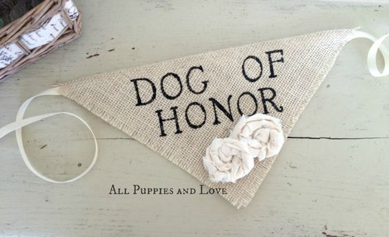 A 'dog of honour' neckerchief