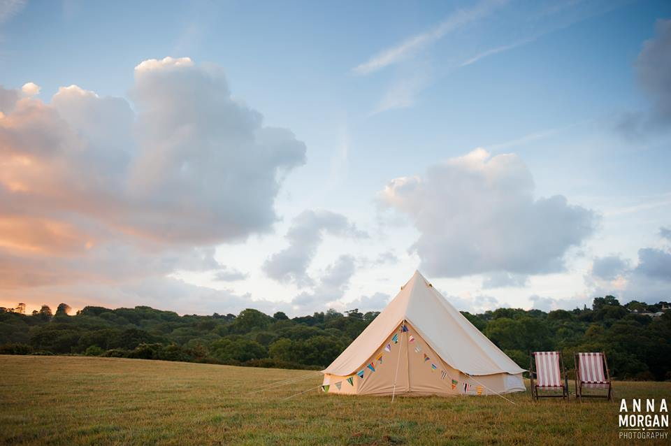Single bell tent