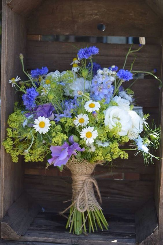 Big wild flower bouquet