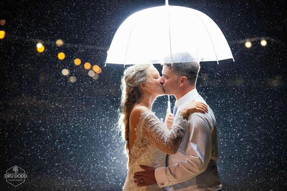 A Wet Weather Wedding