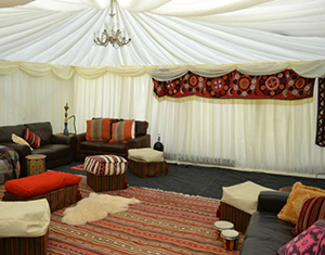 Chillout Wedding Marquees Areas