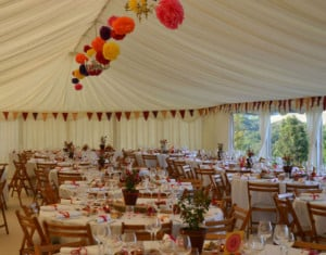 Wedding Marquee Styling and Interiors