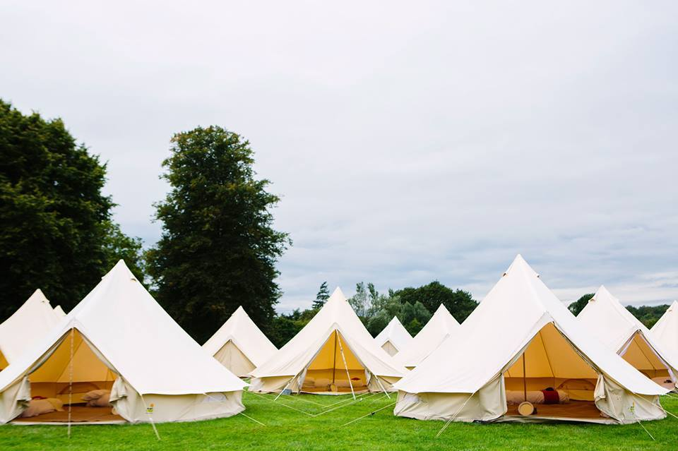 A Glamping Wedding