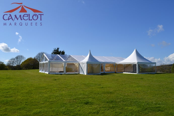 Clear Roof Marquee Wilkswood | Marquee Hire