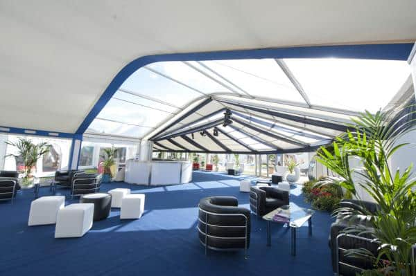 Clear marquee roofs in stock for 2015